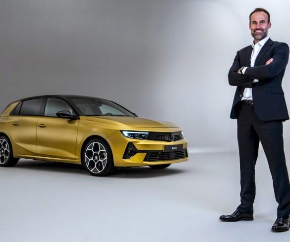 New marketing director at Vauxhall