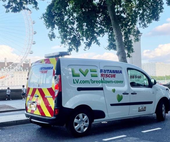 LV Britannia Rescue launches breakdown service for electric cars