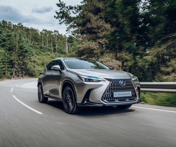 Lexus reveals prices for new NX and first-ever plug-in hybrid