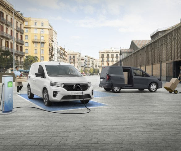 New Nissan Townstar compact van revealed with petrol and electric powertrains