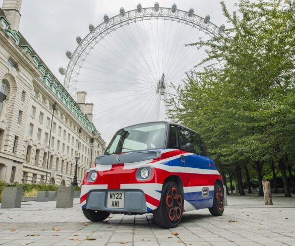 Citroën Ami electric mobility solution to arrive in UK in 2022