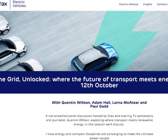 Future for EV transport and energy under focus in live fleet event today