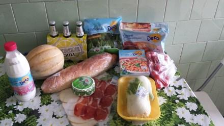 what hapens when you enter an Italian supermarket