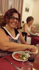 Lomè enjoys her food