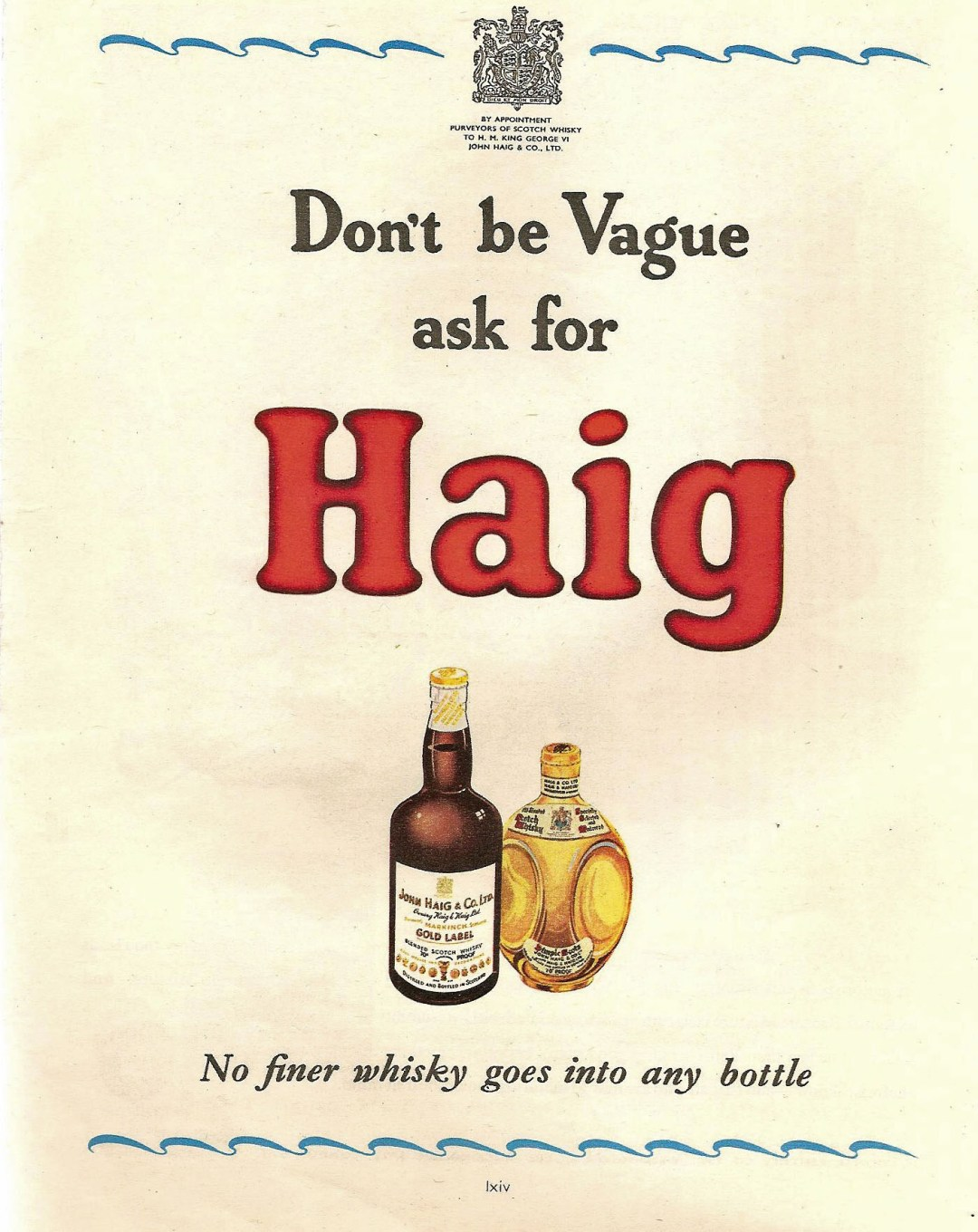 Dont'_be_Vague_ask_for_Haig_advertisement