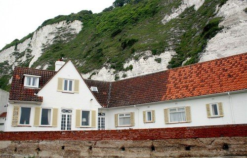 "Ian Fleming's Beach ""Cottage"" on St Margaret's Bay"