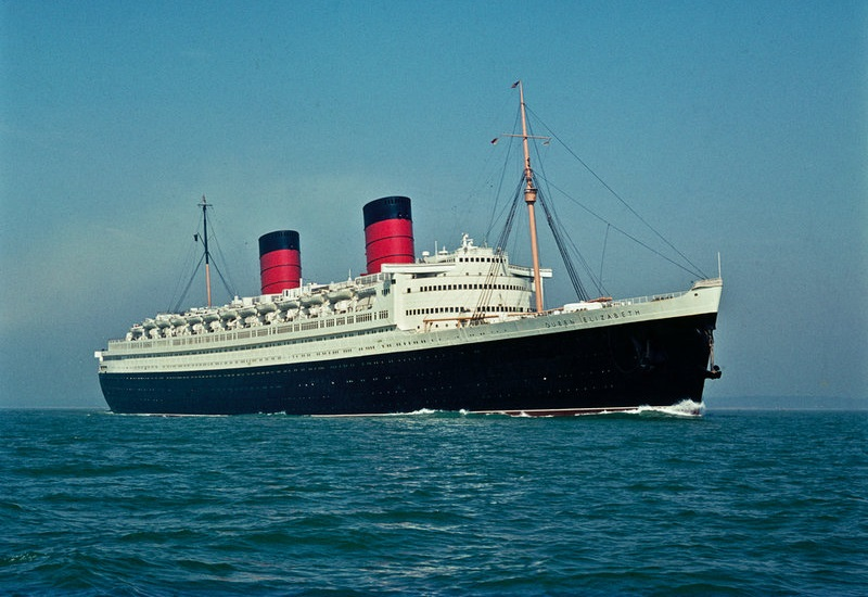 The RMS Queen Elizabeth