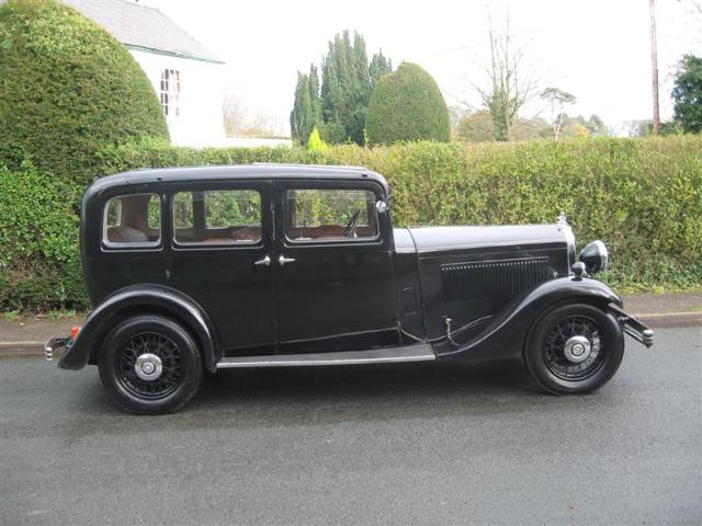 1935 Morris Oxford Sixteen