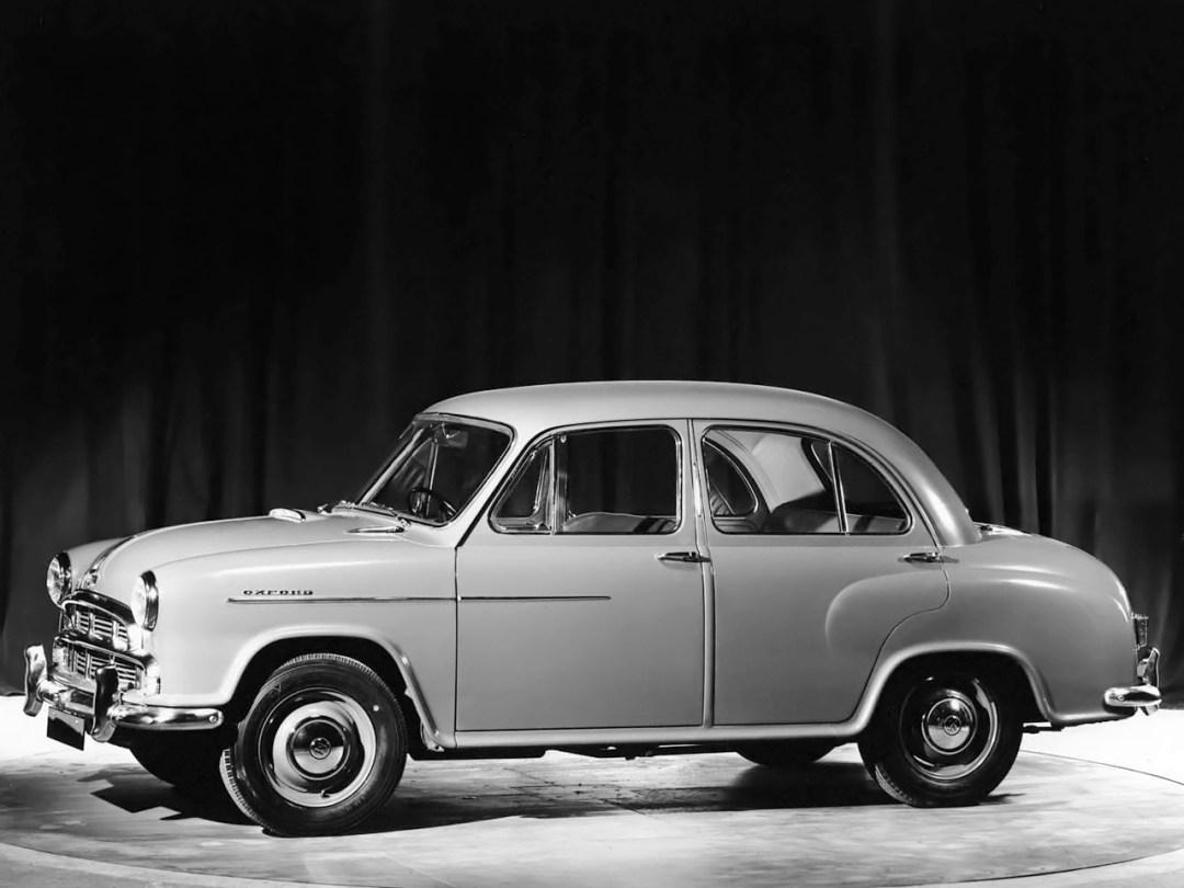 The Oxford Series II from Morris Motors
