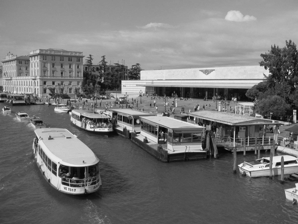 Venezia Santa Lucia station. (Venice)