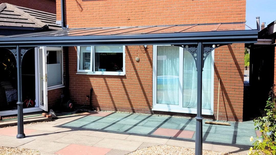 simplicity 6 uk garden canopy blue panels 4