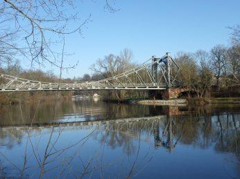 Halle (Saale)- Peissnitz Bridge