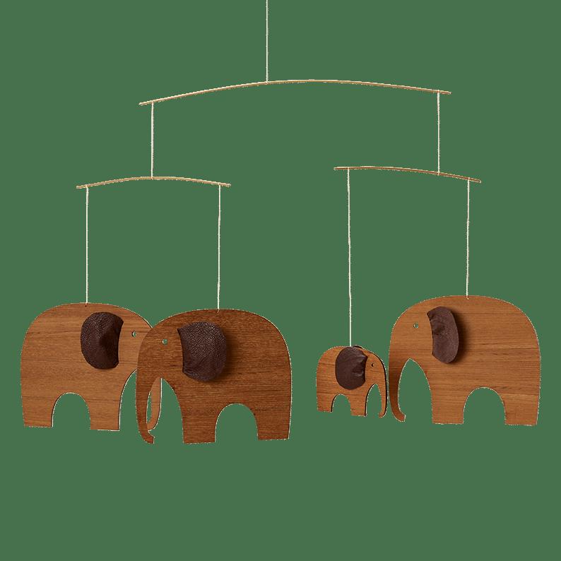 Elephant Party, teak