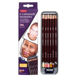 Derwent Coloursoft Skintones