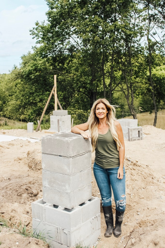 DIY Pavilion Build: Masonry/ Fireplace & Columns