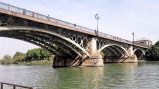 Triana Bridge- Isabel II- built 1854