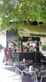 churros stand at foot of Triana bridge
