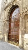 random church door