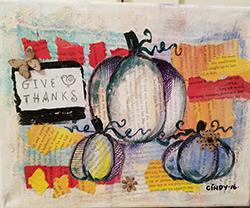 November 19: Pumpkin Collage
