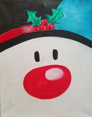 December 2: Jolly Snowman