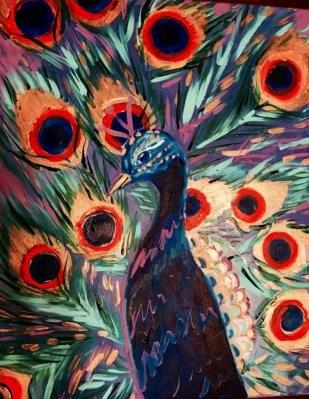 February 23: Peacock