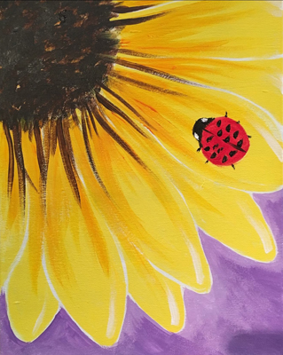 March 17: Spring Sunflower (Children's Class)