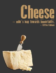 All hail the almighty Cheese..