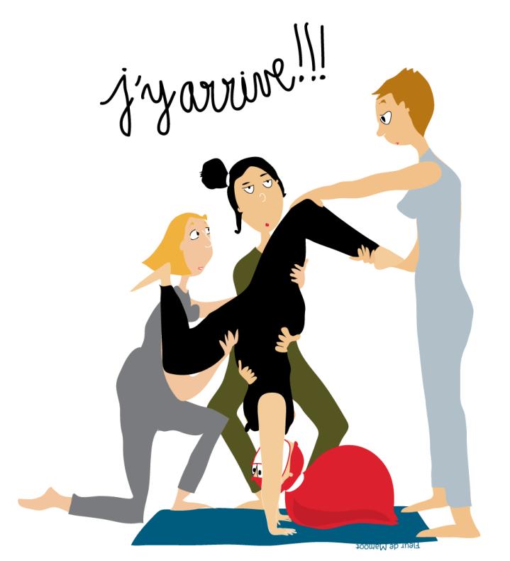 """Résultat de recherche d'images pour """"yoga dessin humour"""""""