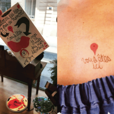 Tattoo Maps et sa pochette