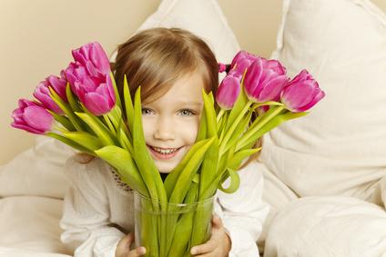 offrir des fleurs pour sa maman