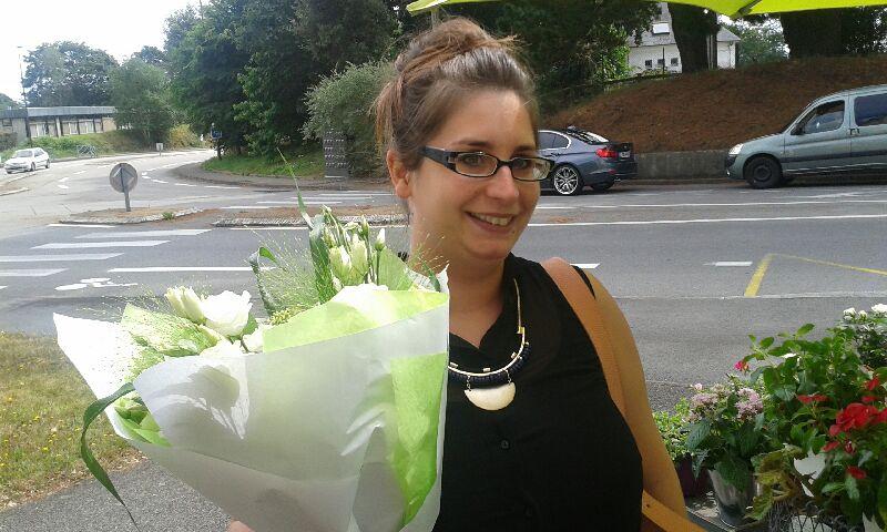 Claire BENEAT, gagnante du jeu youpi fleurs semaine 31