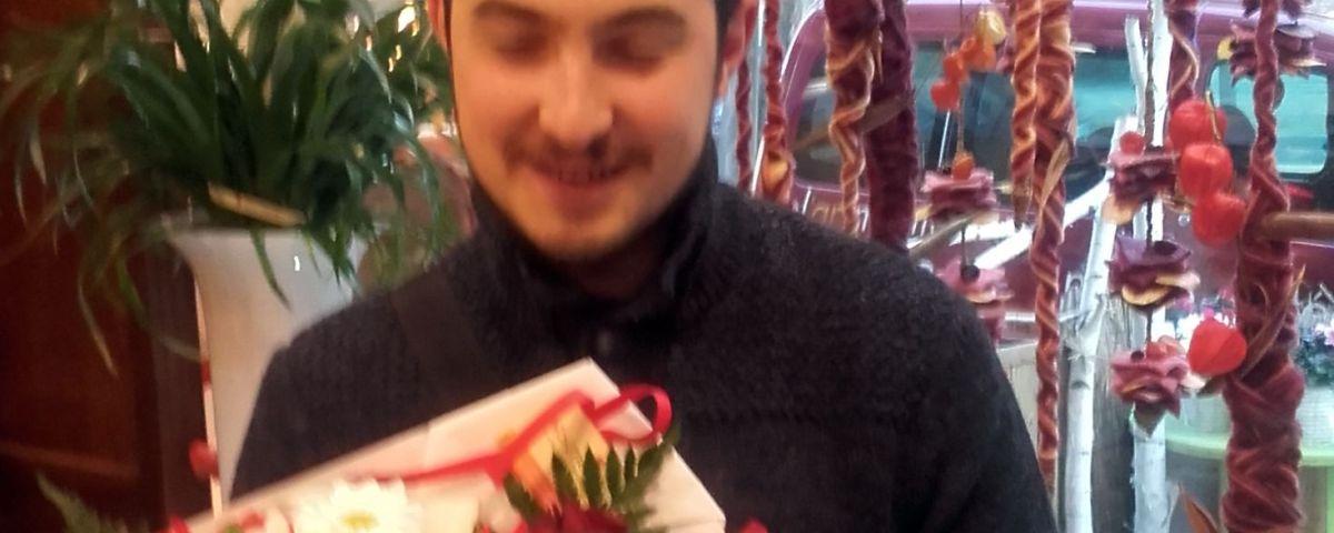 Maxime, gagnant du jeu youpi fleurs, tirage spécial rentrée