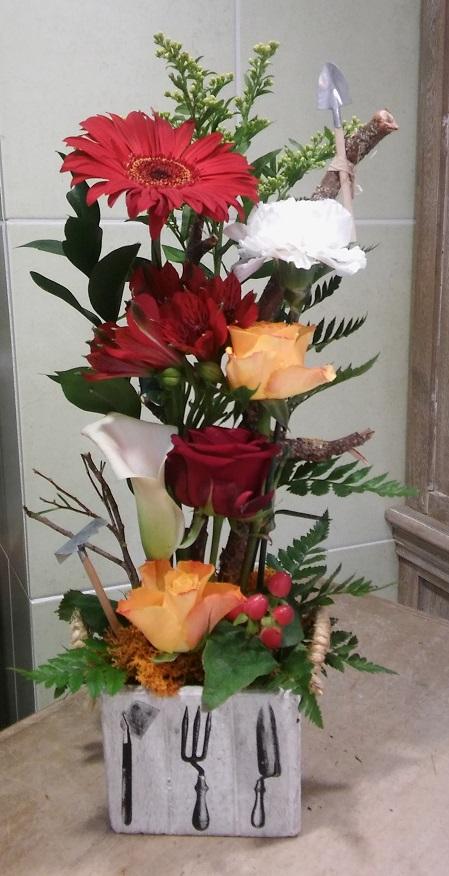 Composition florale en direct meilleur prix qualit fleuriste for Artisan jardinier