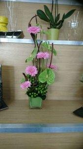 composition florale par Stéphanie pour Fleurs Et Nature à Coignières-78310