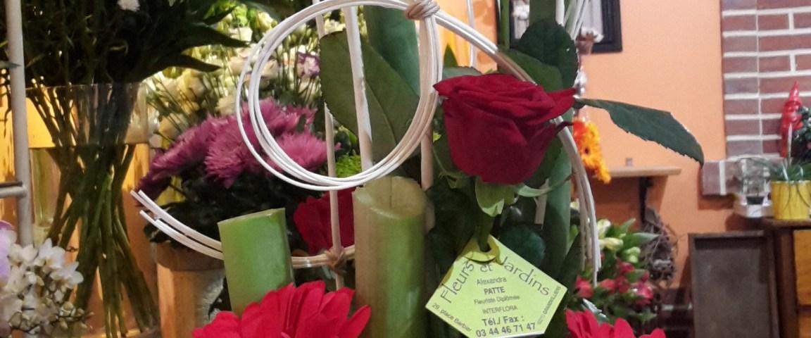 composition de florale par Alexandra pour Fleurs Et Jardins fleuriste à Grandvilliers-60210