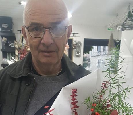 Pierre, gagnant du jeu Youpi Fleurs, tirage du mercredi 02 novembre 2016