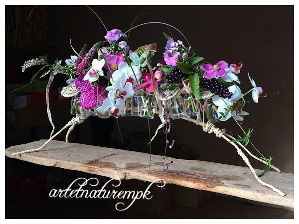 composition par Art et Nature Artisan fleuriste à Eguilles-13510