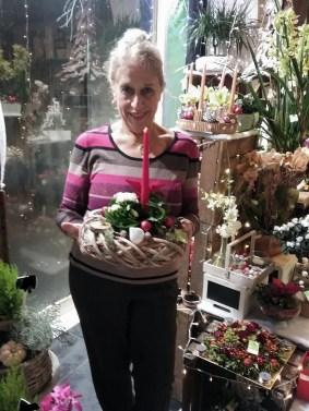 Josiane, gagnante du jeu Youpi Fleurs, Tirage du mercredi 14 décembre 2016