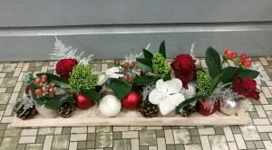 Composition par Les Fleurs de Mûres artisan fleuriste à Montville