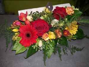 composition par Stéphanie pour l'écrin floral fleuriste à Florensac