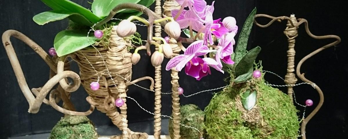 composition par Esprit Nature fleuriste à Cavaillon-84300
