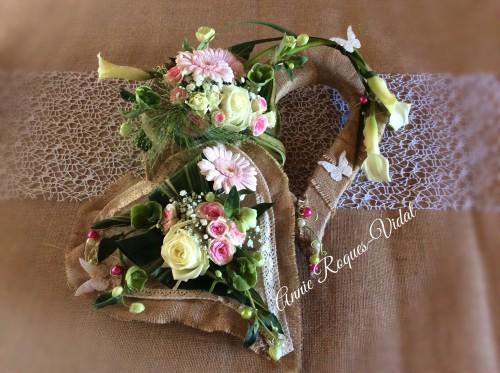 création par Creations Florales - Annie Roques-Vidal à Murat sur Vèbre-81320