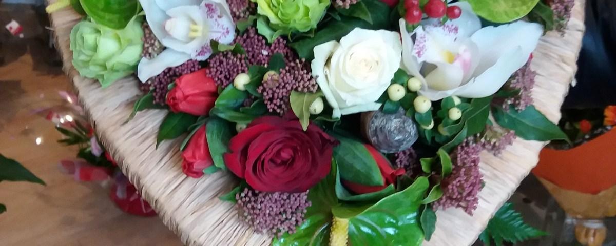 Bouquet par Les jardins Du Cérou fleuriste à Cordes sur Ciel-81170