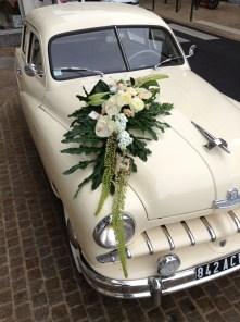 decor voiture mariage Marguerite chateau Thierry