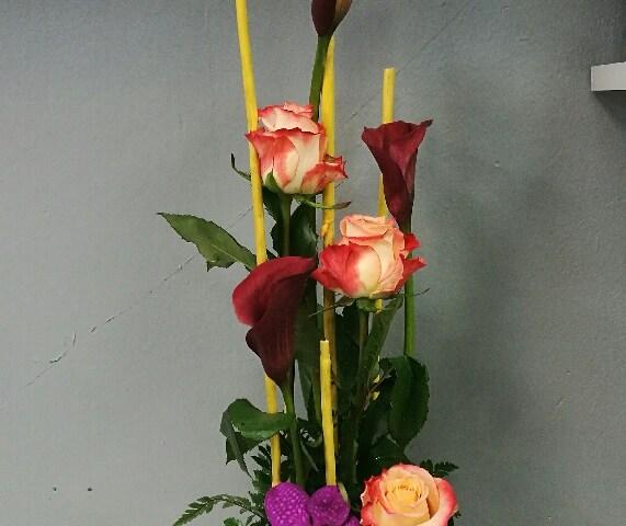 composition par les fleurs de mûres fleuriste à Montville-76710
