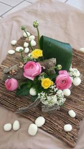 Composition par Fleurs du Mistral fleuriste à La Seyne sur Mer-83500