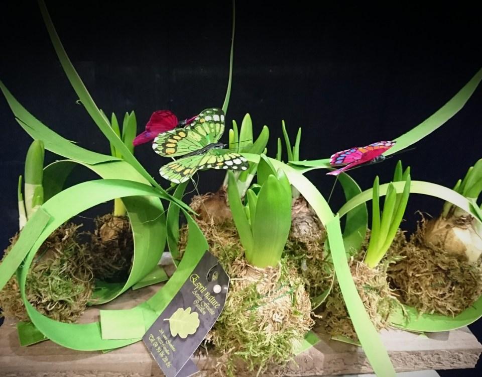 """Composition réalisée en cours d'art floral, avec le foyer rural """"Les Taillades"""""""