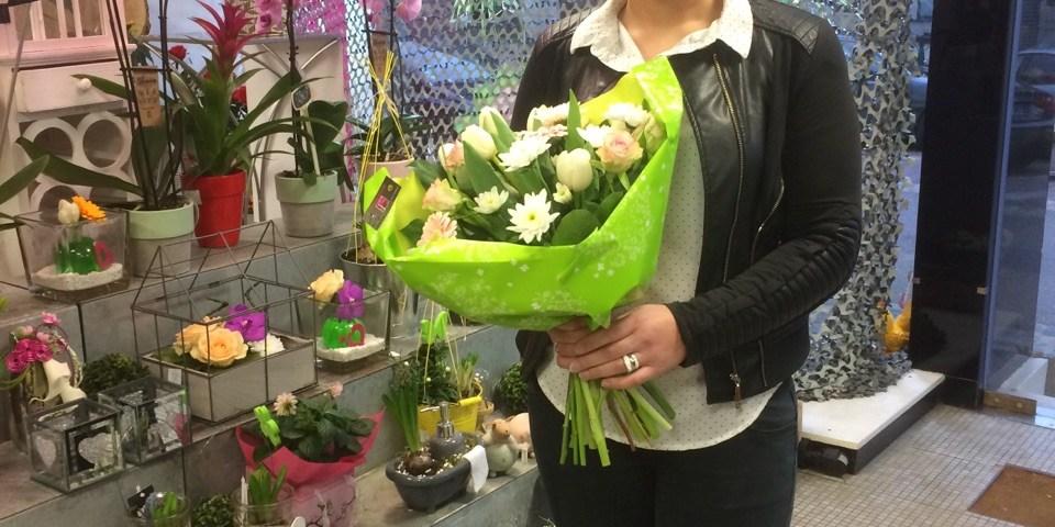 Audrey, gagnante du jeu Youpi Fleurs, tirage du mercredi 1 mars 2017
