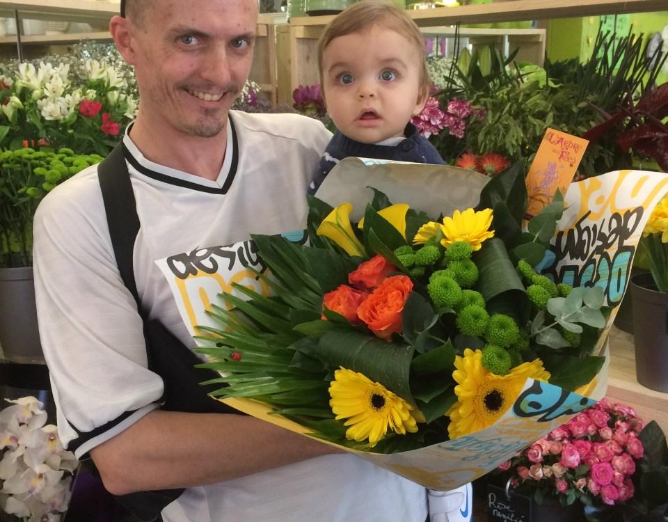 Hugo, gagnant du jeu Youpi Fleurs, tirage du mercredi 22 mars 2017