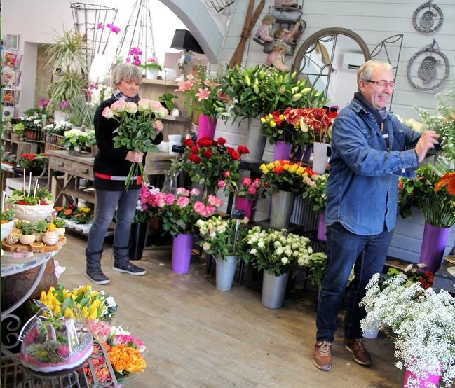 """Vos artisans fleuristes à Ouistreham (14150), Pascale et Jean-Luc pour """"LILY...ROSES..."""""""